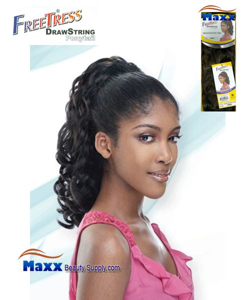 Freetress Drawstring Ponytail Synthetic Hair - Hollywood Girl