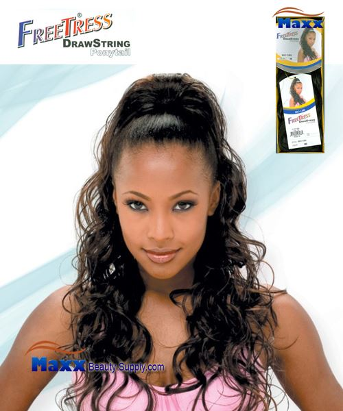Freetress Drawstring Ponytail Synthetic Hair - Rio Girl
