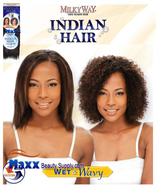 MilkyWay Indian Hair Wet & Wavy - Indian Water 8""