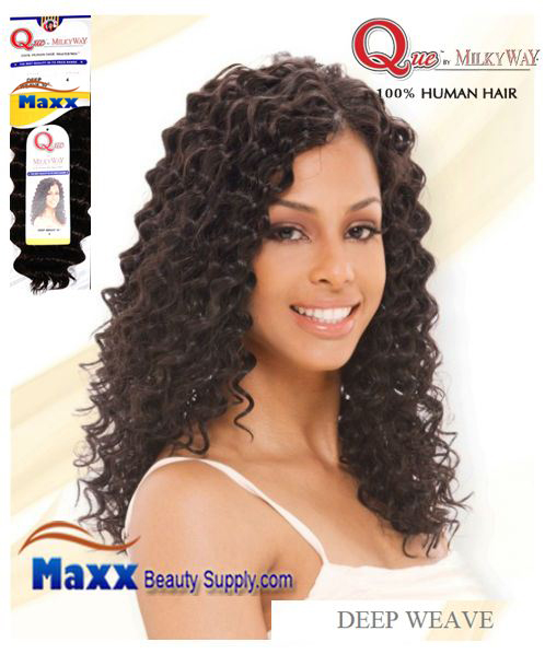 Que by MilkyWay Human Hair MasterMix - Deep Wave