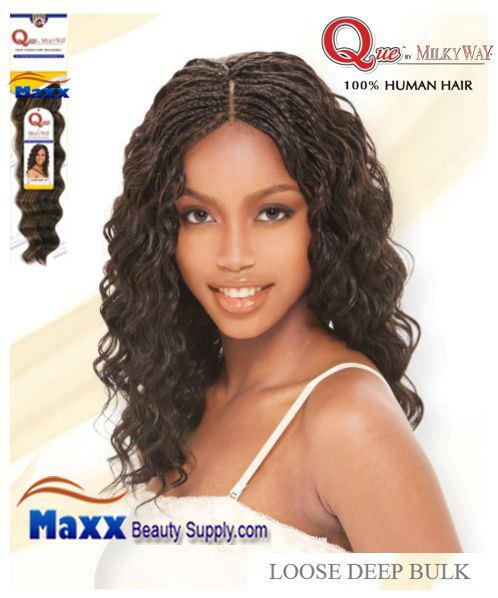 Human hair braiding maxxbeautysupply hair wig hair que by milkyway human hair mastermix braid loose deep bulk pmusecretfo Image collections