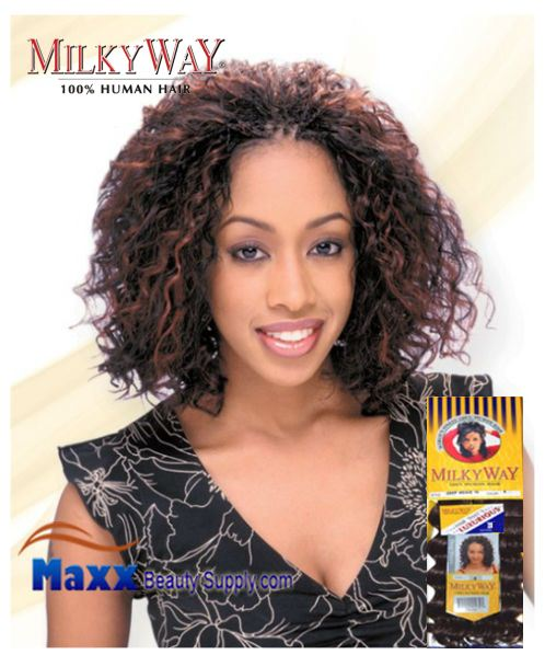 MilkyWay Human Hair Braid - Deep Bulk 18""