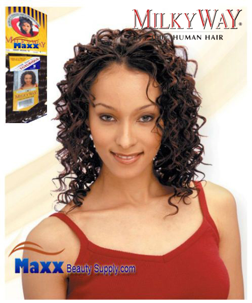 MilkyWay Human Hair Weave - Deep Wave 10""