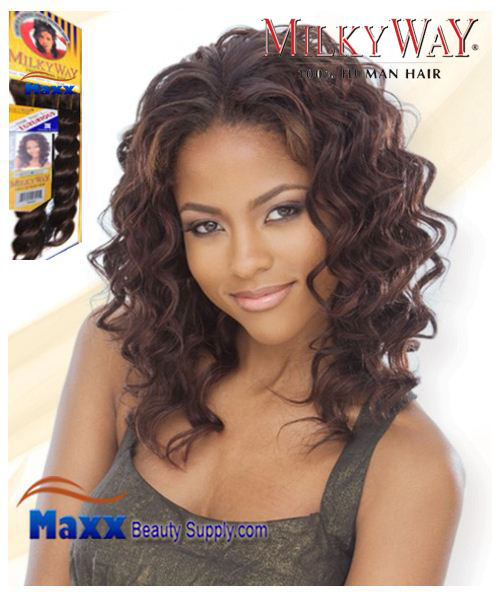 MilkyWay Human Hair Weave - French Twist 10""