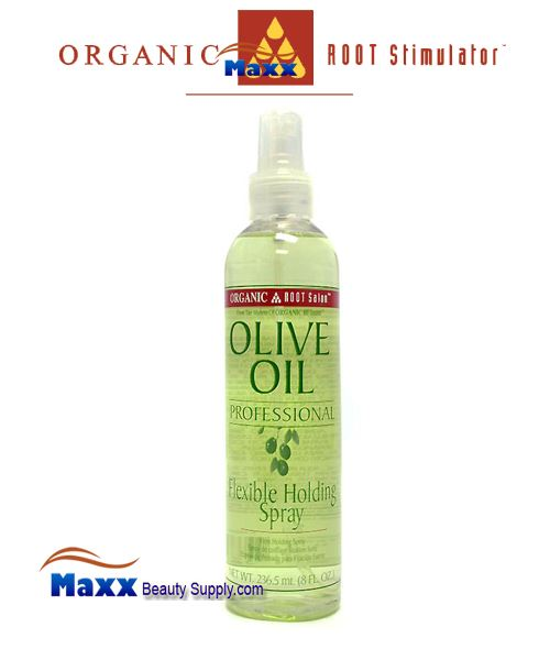 Organic Root Stimulator Olive Oil Professional Flexible Holding Spray 8oz
