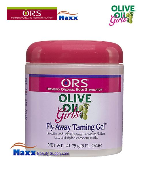 Organic Root Stimulator Girls Olive Oil Fly-Away Taming Gel 5oz