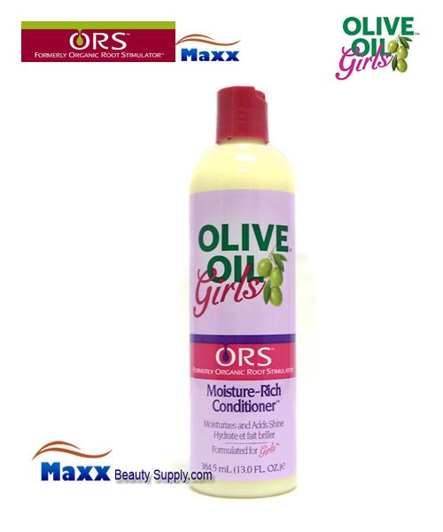 Organic Root Stimulator Girls Olive Oil Moisture Rich Conditioner 13oz