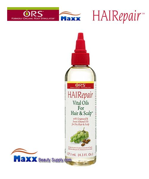 Organic Root Stimulator HAIRepair Vital Oils For Hair and Scalp 4oz