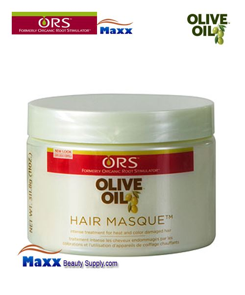 Organic Root Stimulator Olive Oil Hair Masque Intensive Treatment 11oz