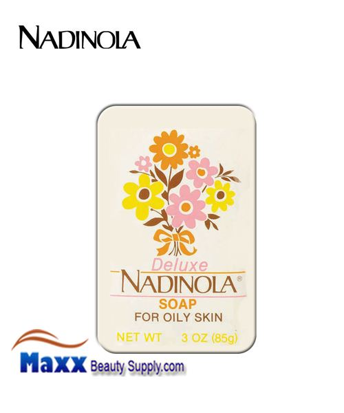 Nadinola Deluxe Soap for Oily Skin 3oz bar