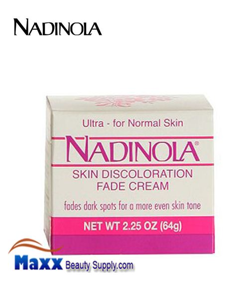 Nadinola Skin Discoloration Fade Cream Ultra For Normal Skin 2.25 Oz