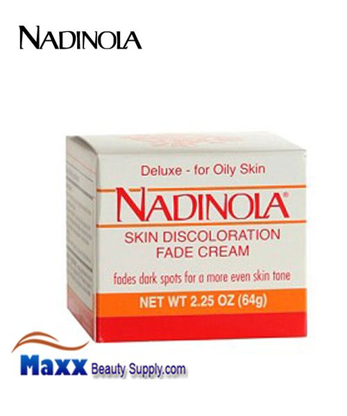 Nadinola Skin Discoloration Fade Cream For Oily Skin 2.25 Oz