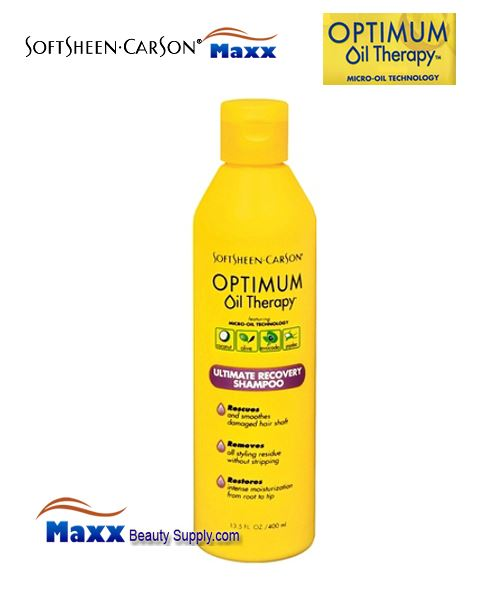 Softsheen & Carson Optimum Oil Therapy Ultimate Recovery Shampoo 13.5oz - Bottle