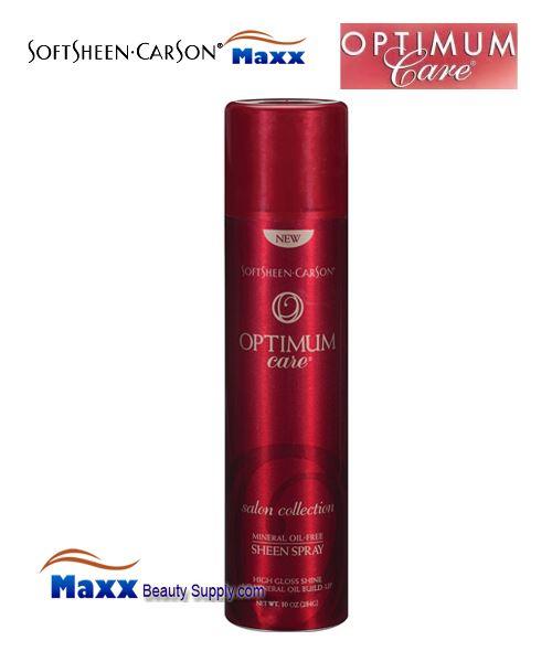 Softsheen & Carson Optimum Care Salon Collection Mineral Oil-Free Sheen Spray 10oz