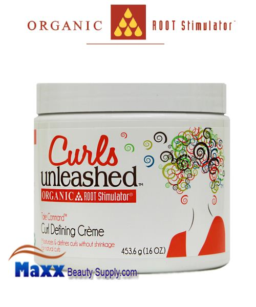 Organic Root Stimulator Curls Unleashed Take Command Curl Defining Creme 16oz