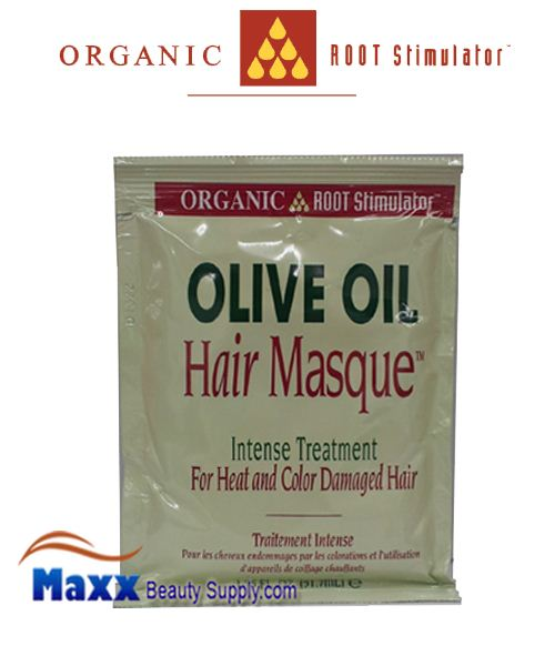Organic Root Stimulator Olive Oil Hair Masque Intensive Treatment 1.75oz - 1Pack
