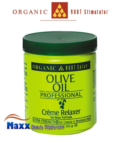 Organic Root Salon Olive Oil Professional Creme Relaxer 18.75oz - Extra
