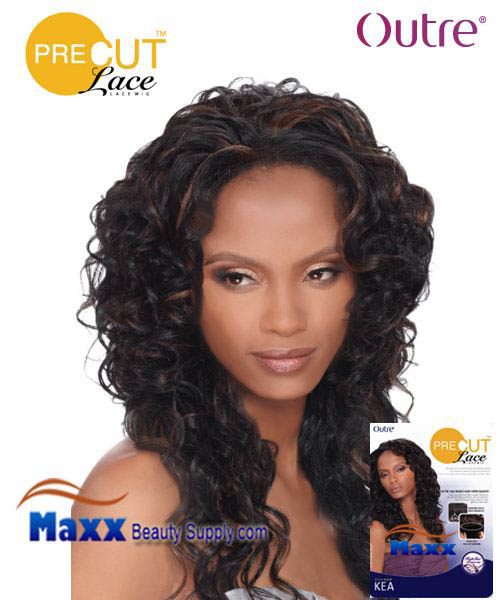 Outre Pre Cut Lace Wig Syntetic Hair - Erika