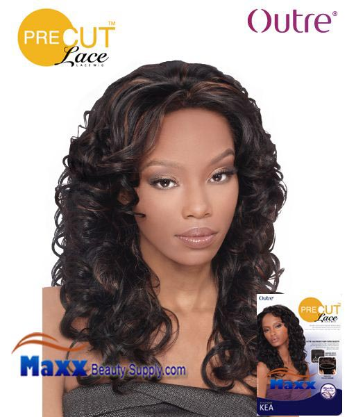 Outre Pre Cut Lace Wig Syntetic Hair - Larae