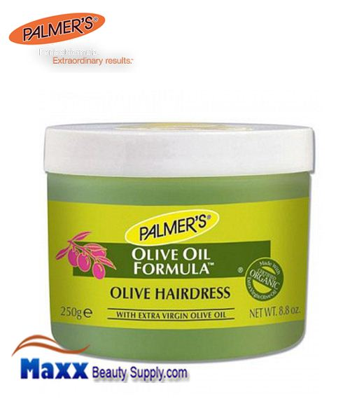 Palmers Olive Oil Formula Olive Hairdress with Extra Virgin Olive Oil 8.8 oz
