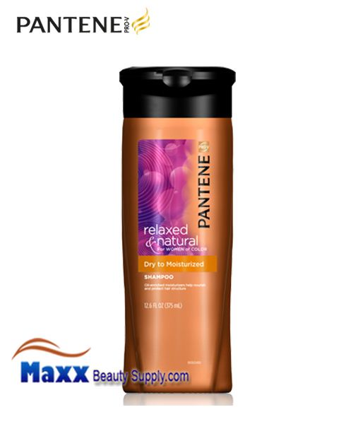Pantene Relaxed & Natural Dry to Moisturized Shampoo 12.6oz