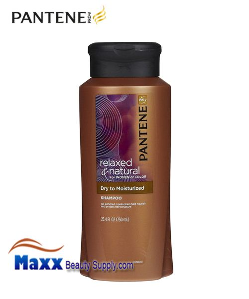 Pantene Relaxed & Natural Dry to Moisturized Shampoo 25.4oz