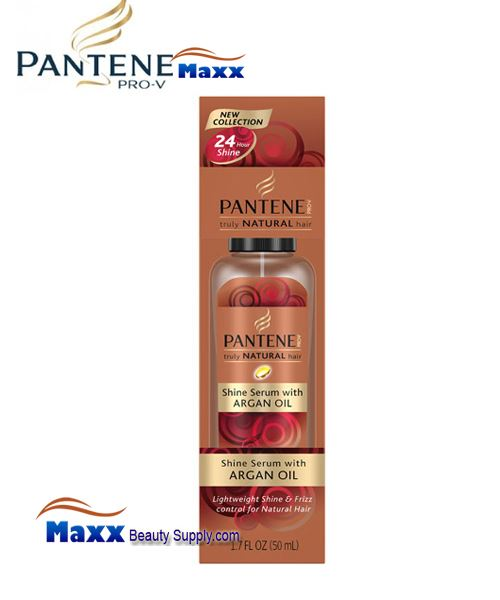 Pantene Truly Natural Hair Shine Serum with Argan Oil 1.7oz