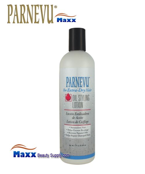 Parnevu For Extra Dry Hair Oil Styling Lotion 12oz - Bottle