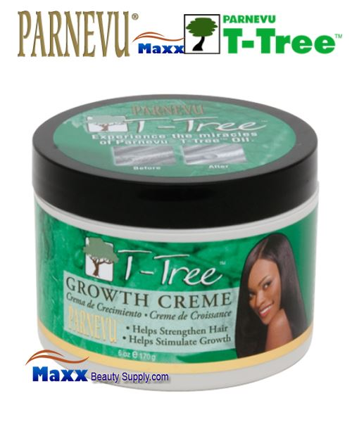 Parnevu T-Tree Growth Crème 6oz - Jar