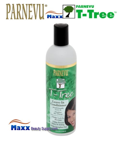 Parnevu T-Tree Leave-In Conditioner 12oz - Bottle