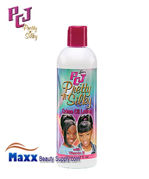 PCJ Pretty-n-Silky Creme Oil Lotion 12oz