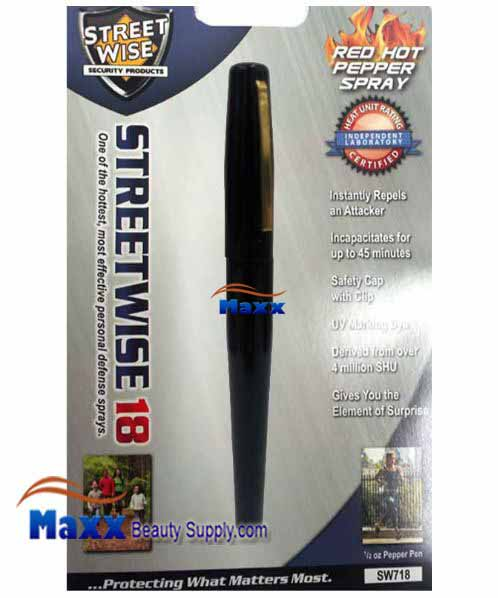 Streetwise Security Products Red Hot Pepper Spray 1/2oz - Pen