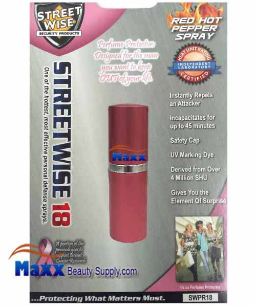 Streetwise Security Products Red Hot Pepper Spray 3/4oz - Pink