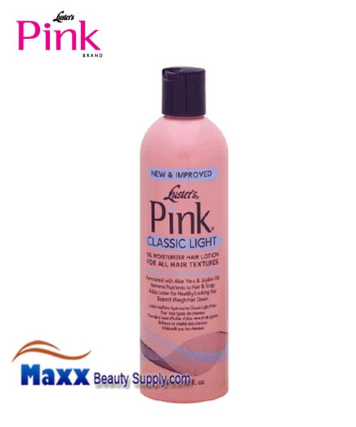 Luster's Pink Oil Moisturizer Hair Lotion 12oz - Classic Light