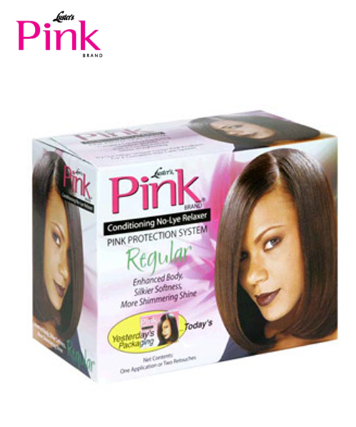 Luster's Pink Conditioning No-Lye Creme Relaxer Kit 1 App or 2 Retouch - Regular