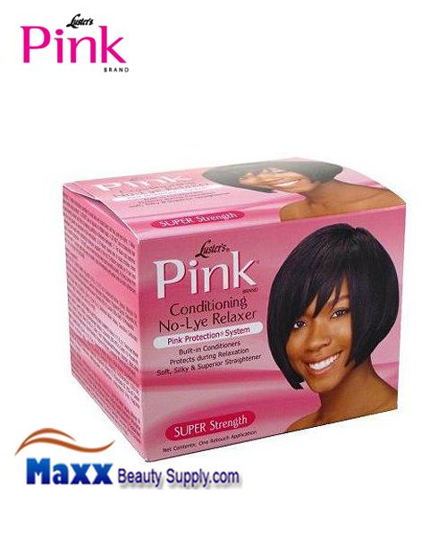 Luster's Pink Conditioning No-Lye Creme Relaxer Kit 1 Retouch App - Super