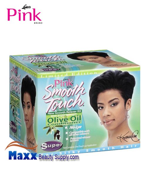 Luster's Pink Smooth Touch New Growth No-Lye Relaxer System - Super