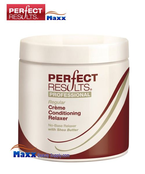 Perfect Results No Base Cream Conditioning Relaxer 16oz - Regular