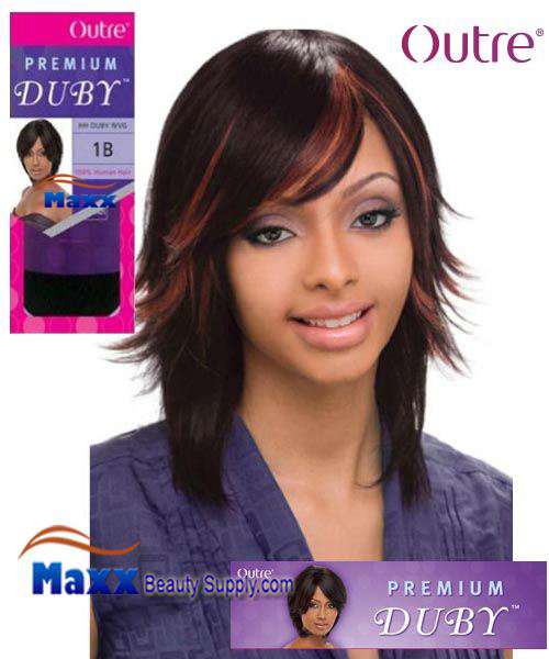 Outre Premium Collection 100% Human Hair Weave - Premium Duby