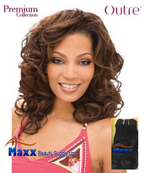 "Outre Premium Collection Human Hair Weave - Romance Curl 10"" 14"""