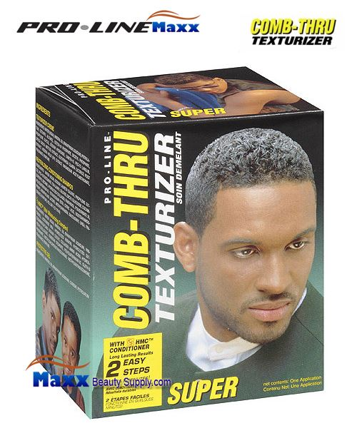 Pro Line Comb Thru Hair Texturizer Kit - Super