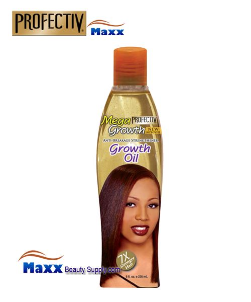 Profectiv Mega Growth Anti Breakage Hair Strengthener Oil 8oz