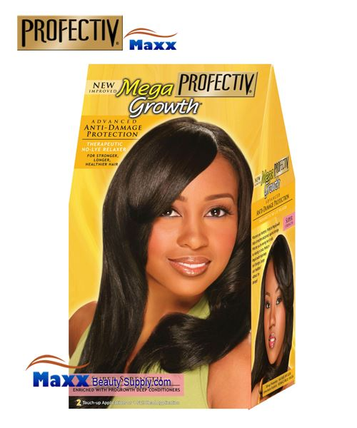 Profectiv Mega Growth Anti Damage Protection No-Lye Relaxer System - Super