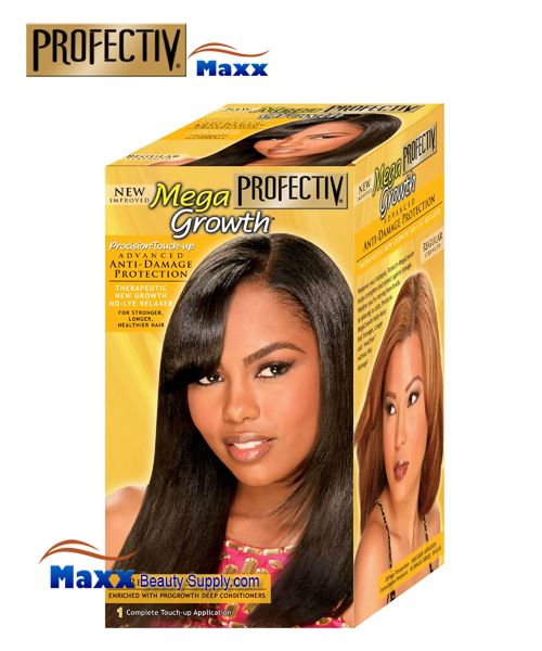 Profectiv Mega Growth Precision Touch Anti-Damage No-Lye Relaxer Kit - Regular