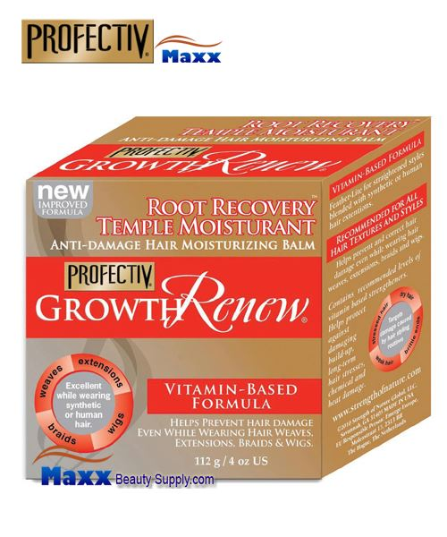 Profectiv Growth Renew Root Recovery Temple Moisturant 4oz