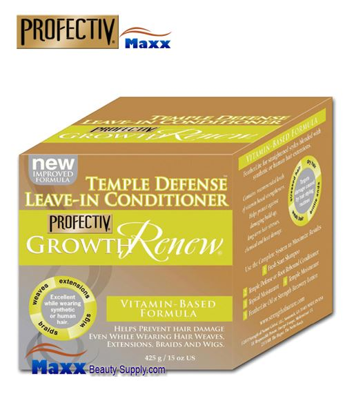 Profectiv Growth Renew Temple Defense Leave-In Conditioner 15 oz