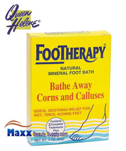 Queen Helene Footherapy Foot Bath - Bathe Away Corns and Calluses 3oz