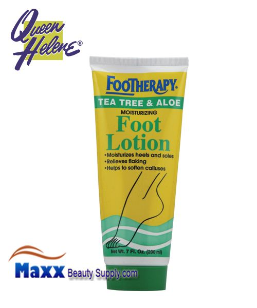 Queen Helene FooTherapy Foot Lotion Tea Tree And Aloe 7oz
