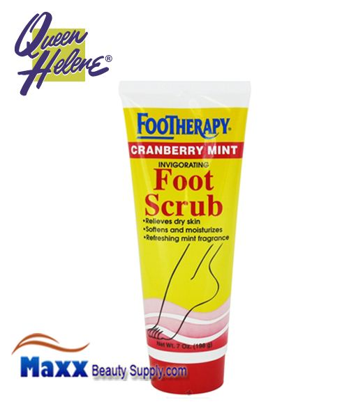 Queen Helene FooTherapy Foot Scrub Cranberry Mint 7oz