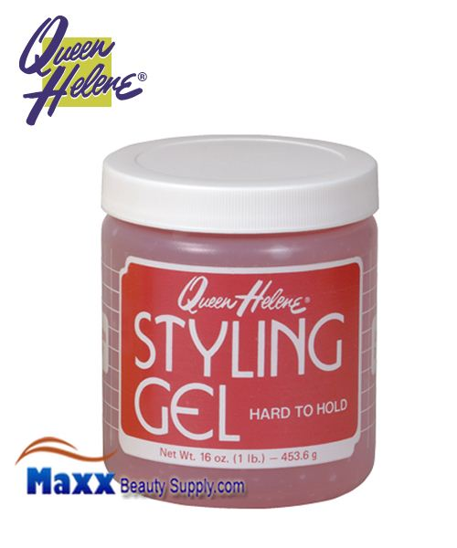 Queen Helene Styling Gel 16oz - Hard to Hold
